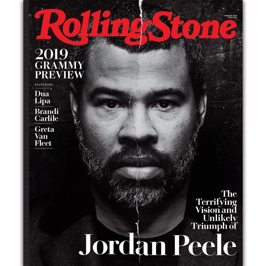 Print Isn T Dead Not When The Best Magazine Covers Still Beckon Brightly From Newsstands And Grocery Check Rolling Stones Magazine Rolling Stones Jordan Peele
