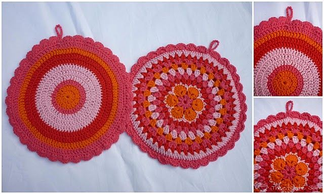 Colorful Potholders