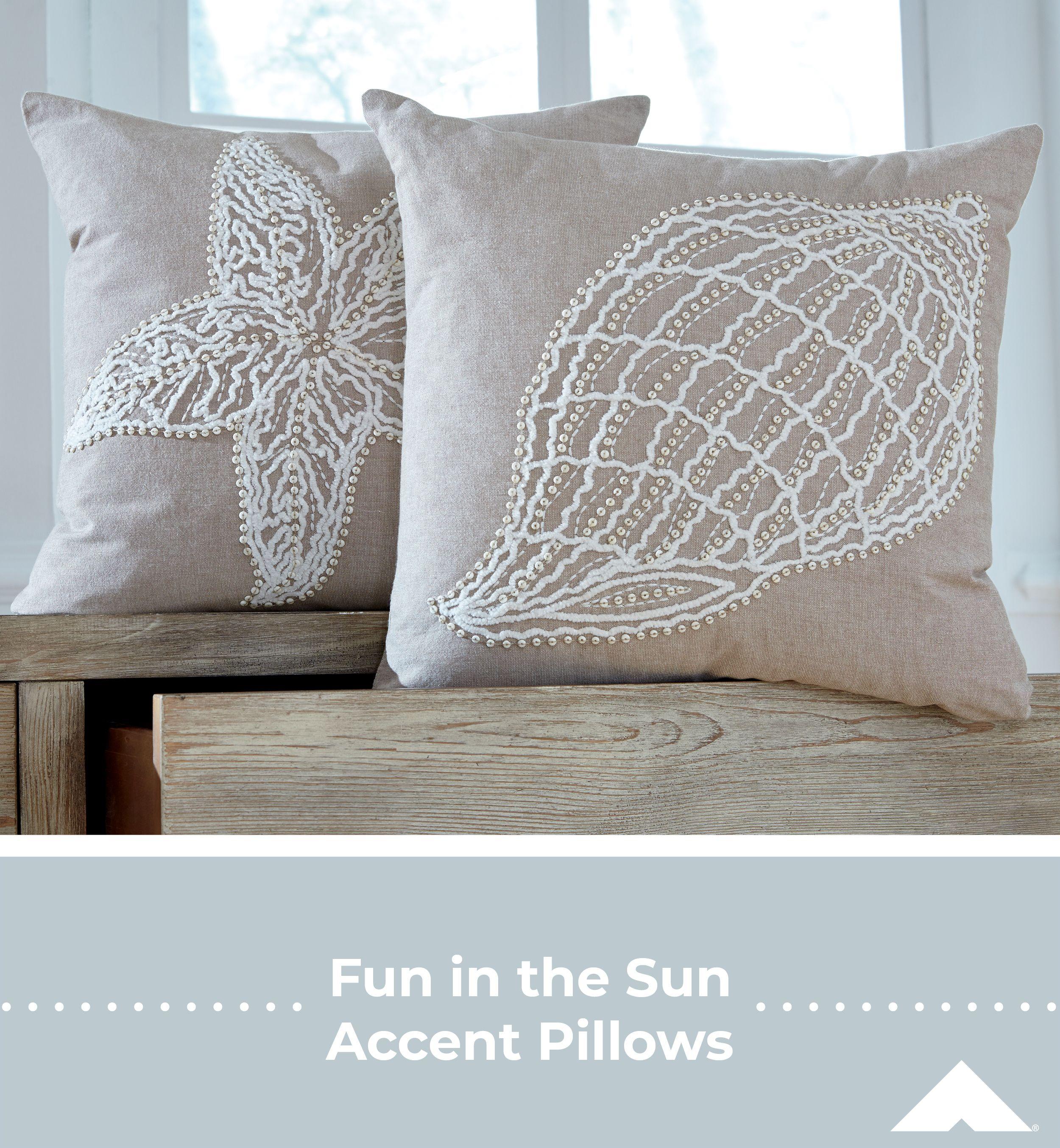 Anshel Natural Accent Pillows By Ashley Furniture - #Ashleyfurniture #Homedecor