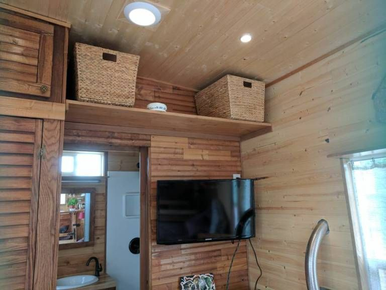 High desert tiny house also houses pinterest rh