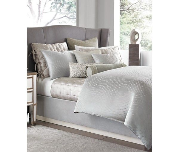 hotel collection finest silver leaf bedding collection hotel collection bed u0026 bath macyu0027s