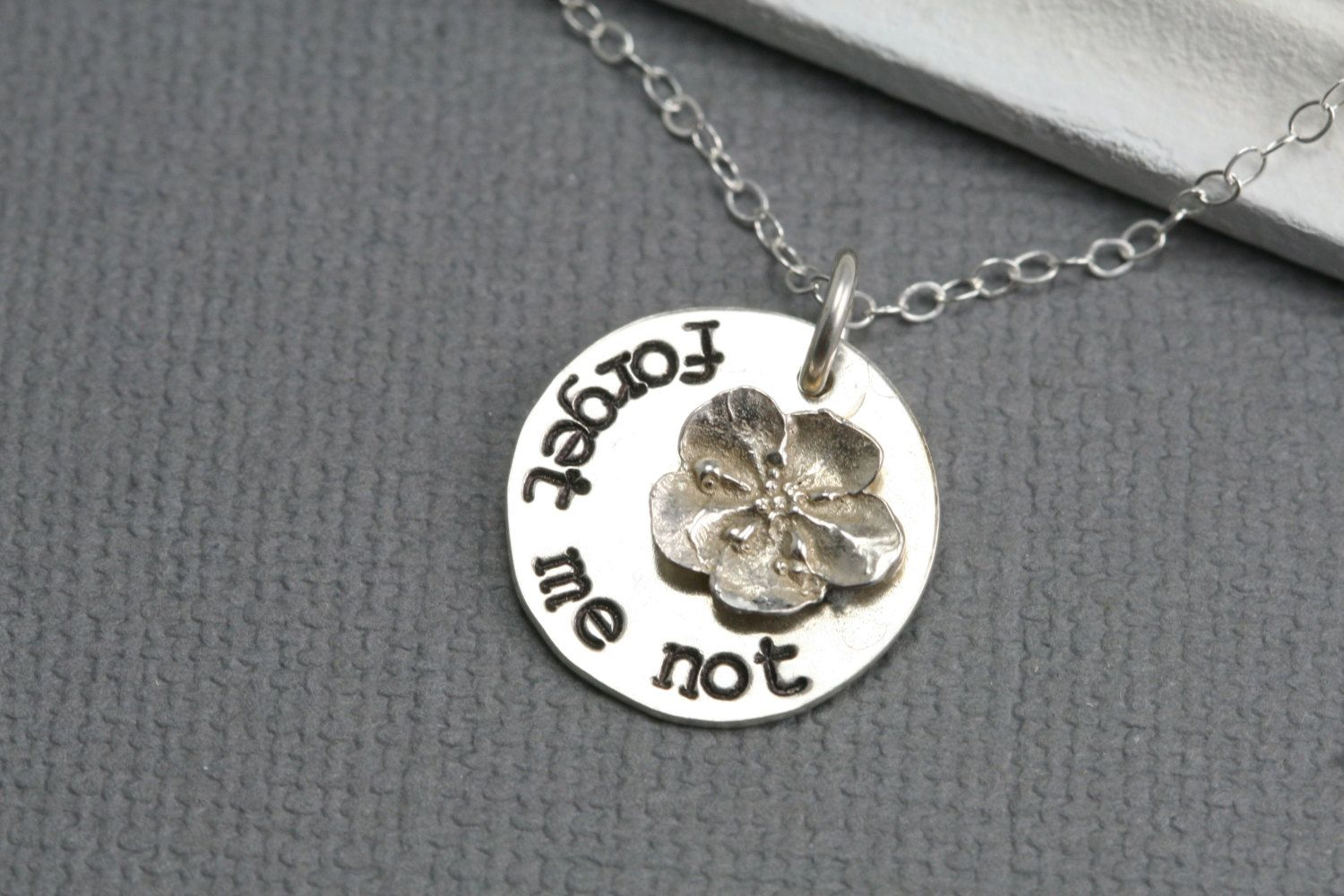 Daughter to be silver necklace daughter in law necklace