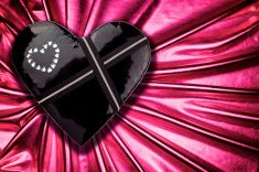 Fetish Valentine's Heart stock photo