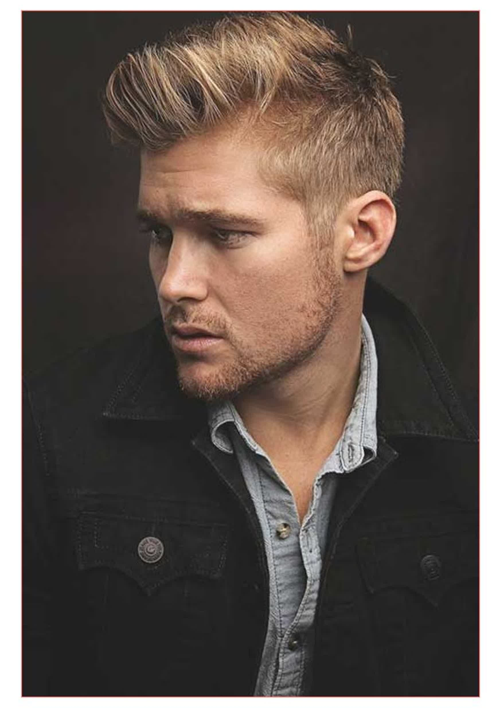 Haircut for men with round face fresh new mens hairstyles for blonde hine hair  blondes hair style
