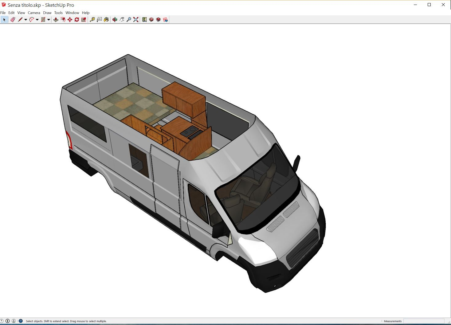 Guide to layout tools for diy camper van camper van for Rv blueprints