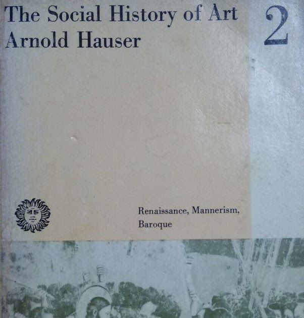 The Social History Of Art Arnold Hauser 2 Vintage Book V 115