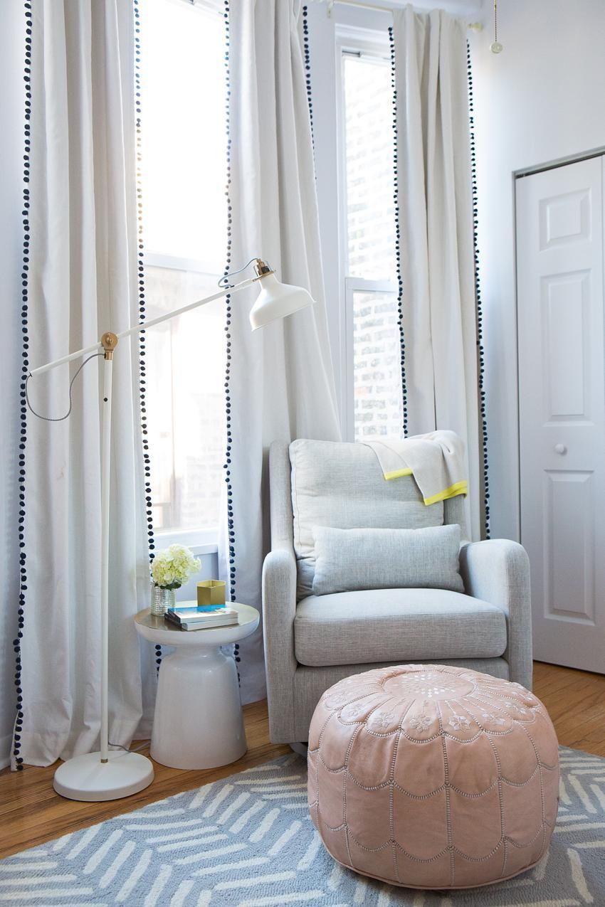Our Neutral Nursery Baby Curtains