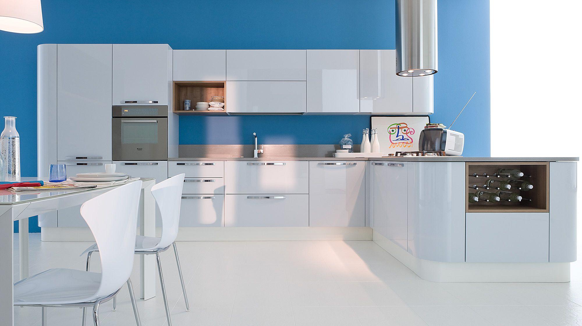Extra Tonda Veneta Cucine.Veneta Cucine Modern Kitchen Cabinets Extra Tonda