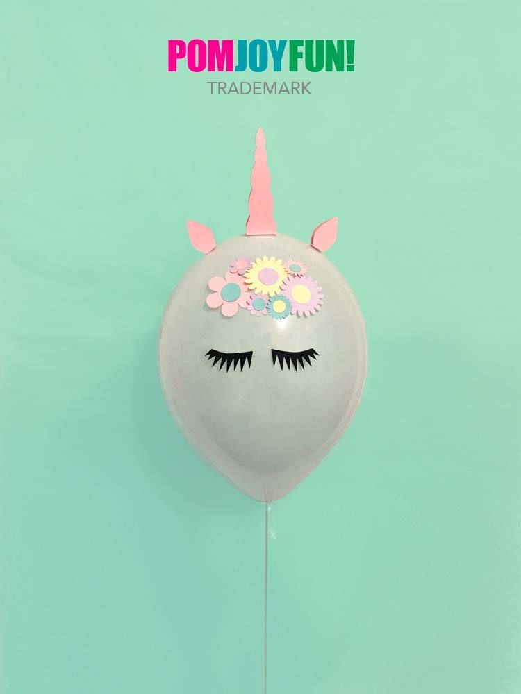 Unicorn Balloons Set Of 2 Party 11 Inch Decor And Birthday Balloon Kit