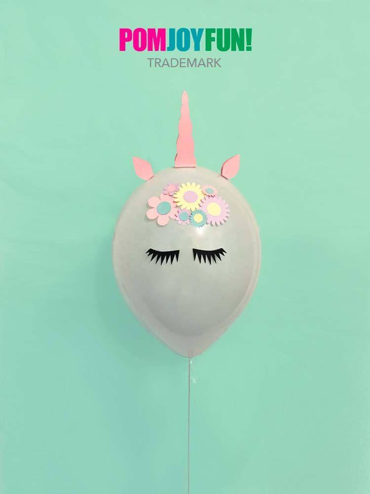 Unicorn Balloons Set Of 2 Party 11 Inch Decor And Birthday Balloon Kit