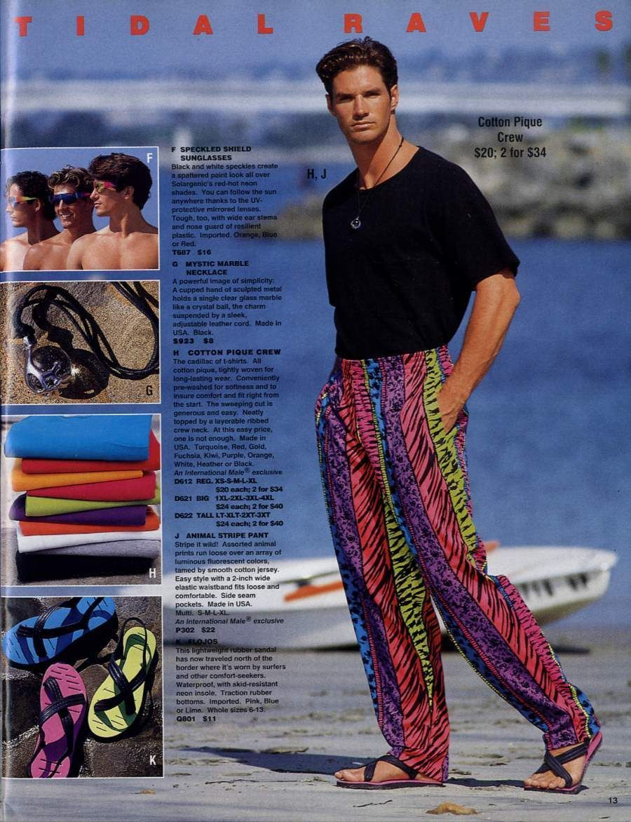 90s mens fashion. Was this ever ok?!?! | I love 90's