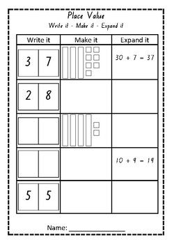 place value worksheet place value worksheets place
