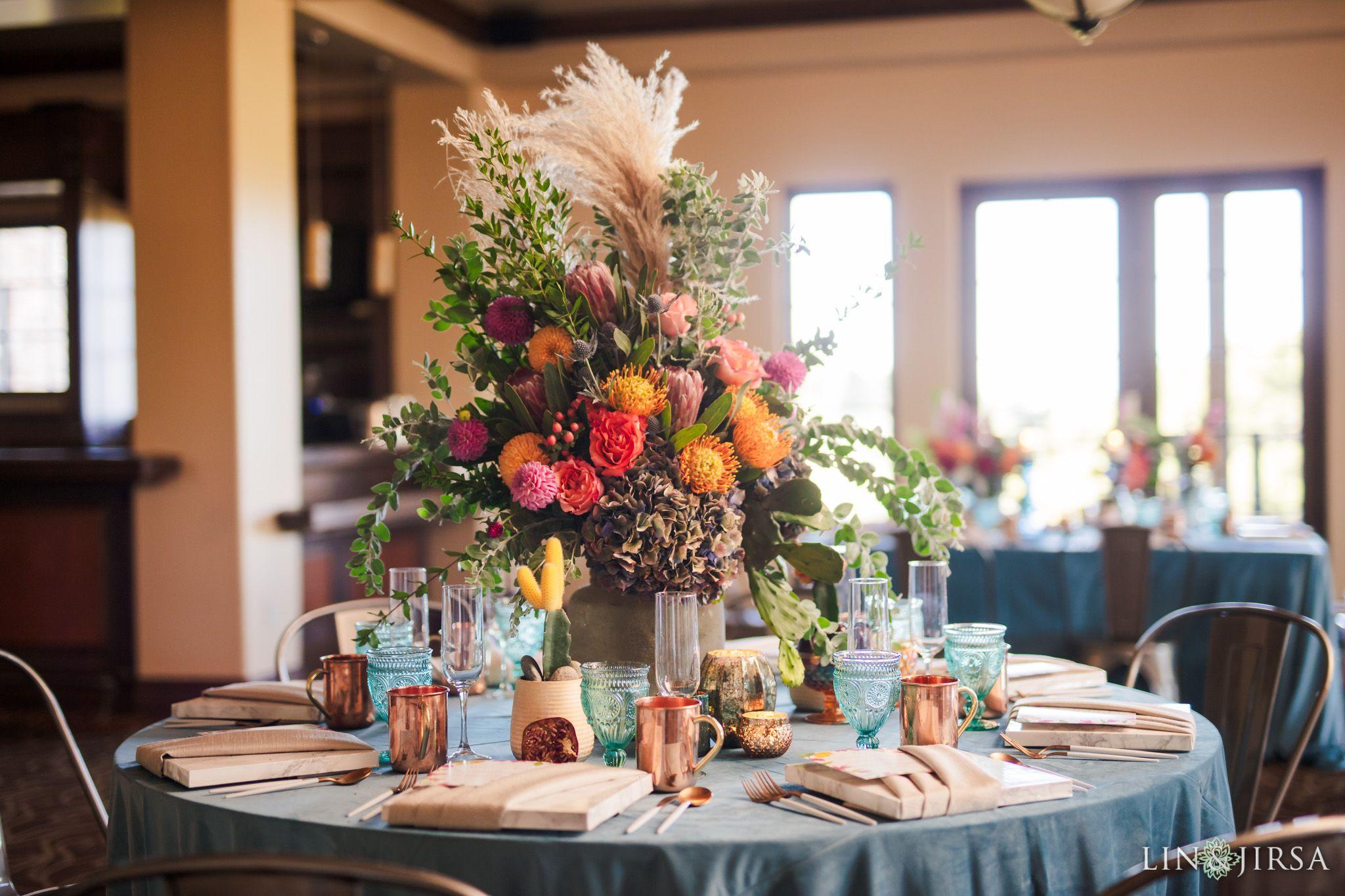 Boho Chic Orange County Stylized Wedding Laura David Orange County Wedding Country Club Wedding Wedding