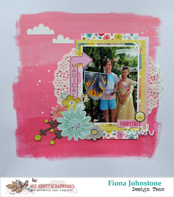 All About Scrapbooks Australia Fairytale Wish With Pink Paislee