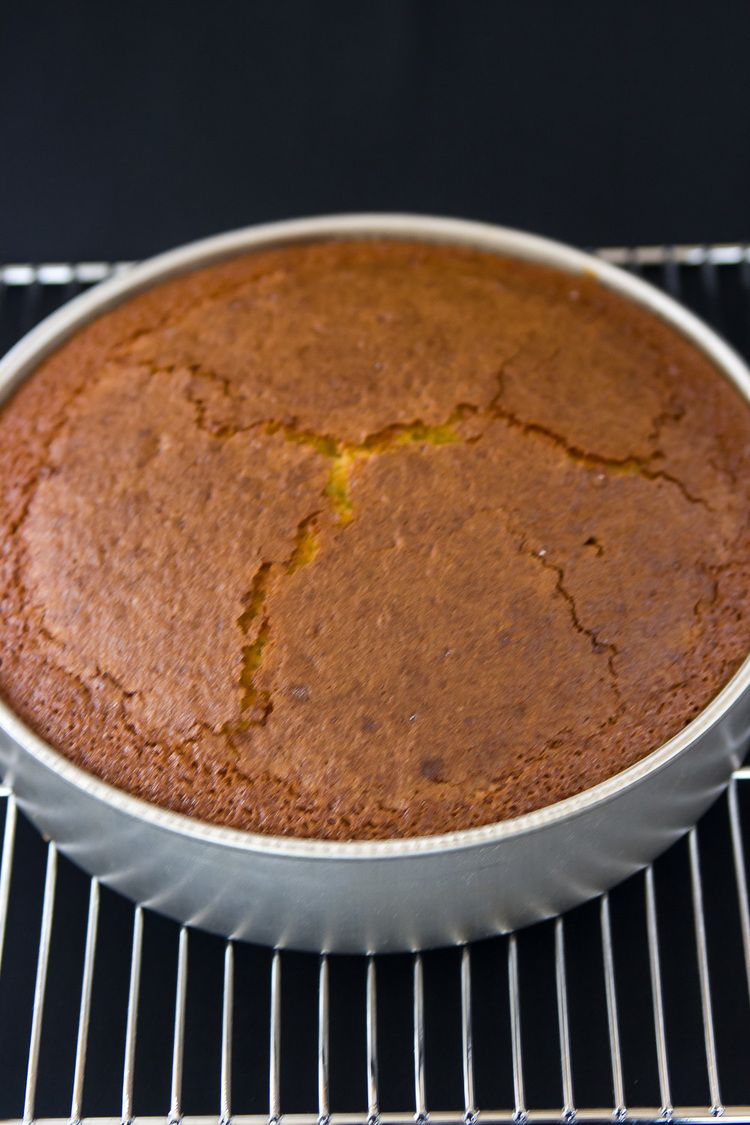 Rustic Olivie Oil Cake with Grand Marnier