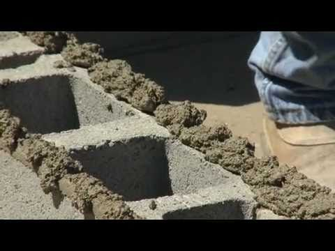 How to Build a Cinder Block Wall | Construction & Concrete | Cinder