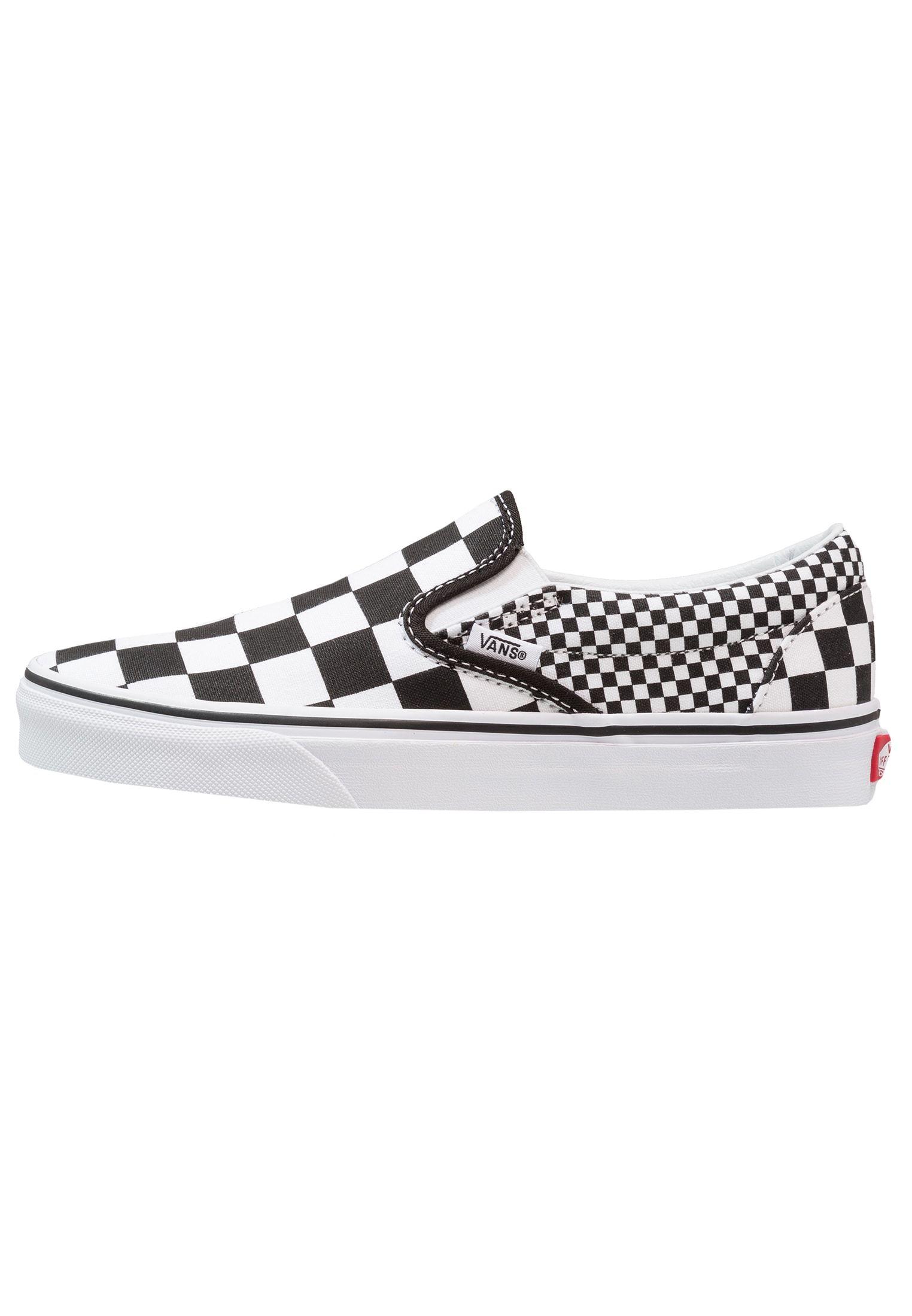 7ed2475620a7 UA CLASSIC SLIP-ON - Loafers - black white   Zalando.dk 🛒
