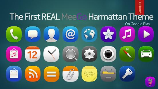 awesome MeeGoHarmattan Theme v1.3.4 Cracked APK is Here