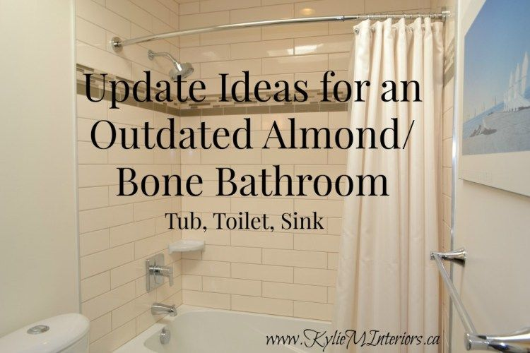 Ideas To Update Your Almond Bathroom Toilets Tubs Sinks And Surrounds Toilets And Sinks Bathrooms Remodel Bathroom Toilets