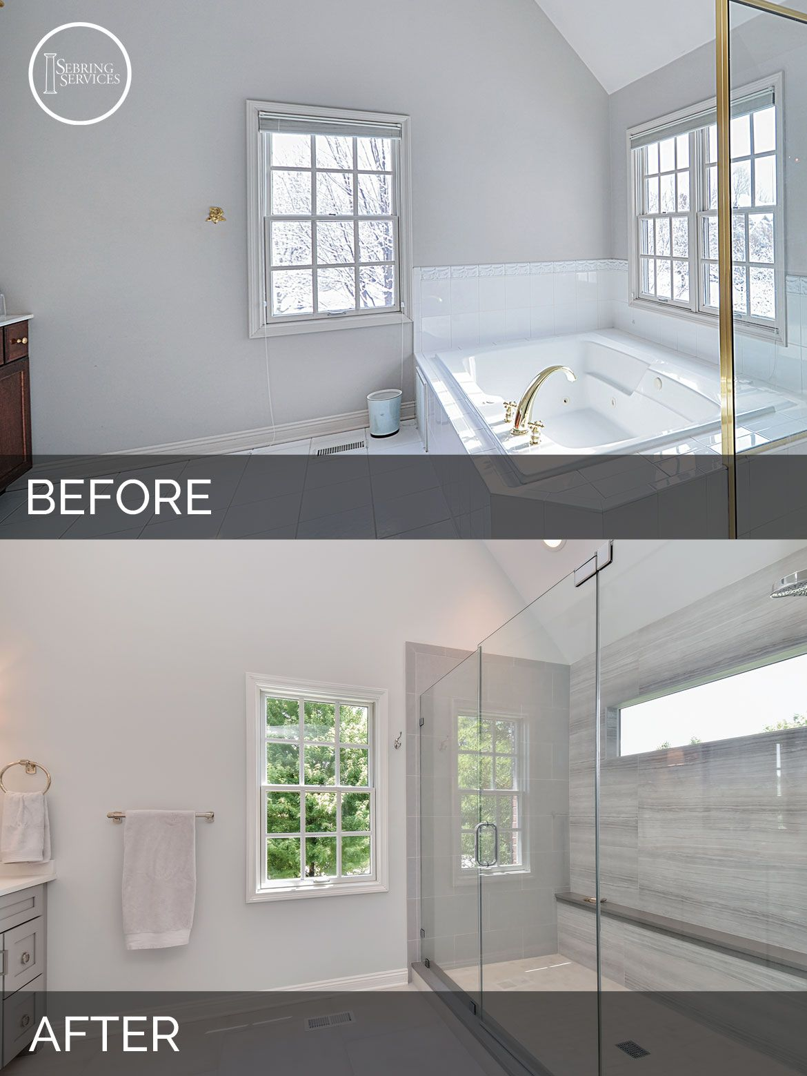 DIY Bathroom Remodel  Before amp After