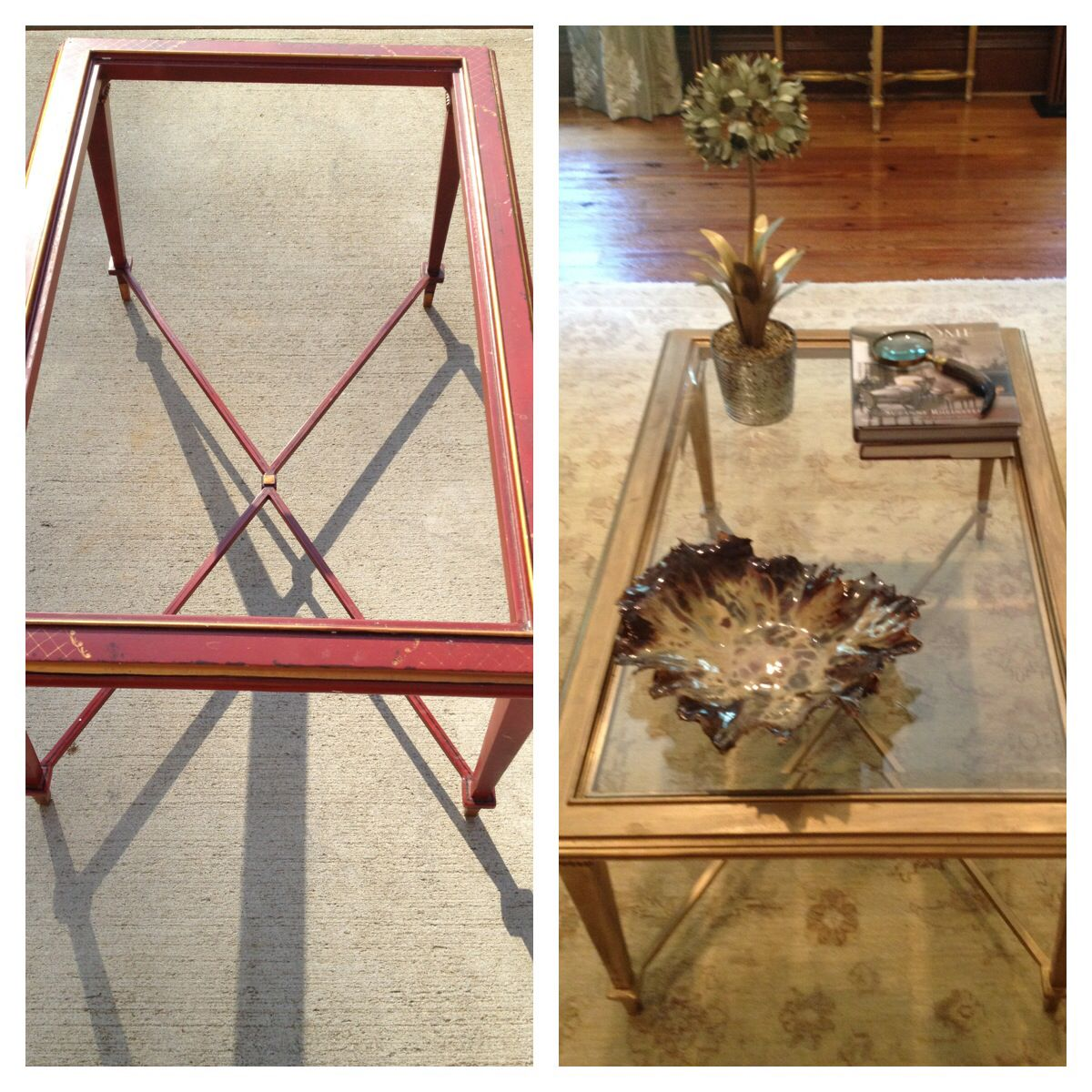 A little love for my clients coffee table