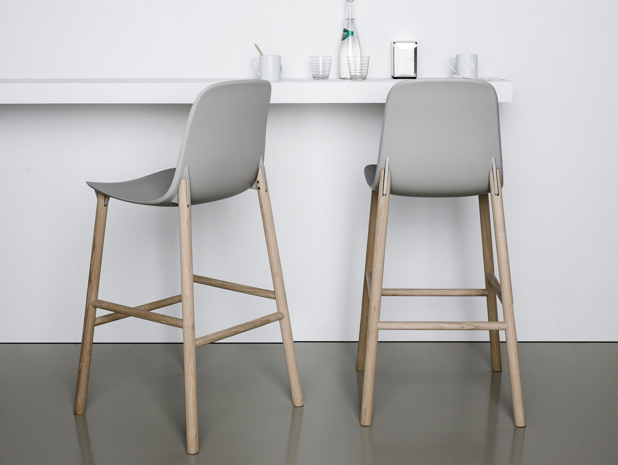 Sharky Stool by Neuland Industriedesign for Kristalia   Supreme ...