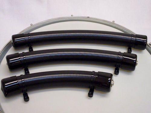acoustic trigger set of 3 electronic drum pad bar for kick snare tom or edrum ebay. Black Bedroom Furniture Sets. Home Design Ideas