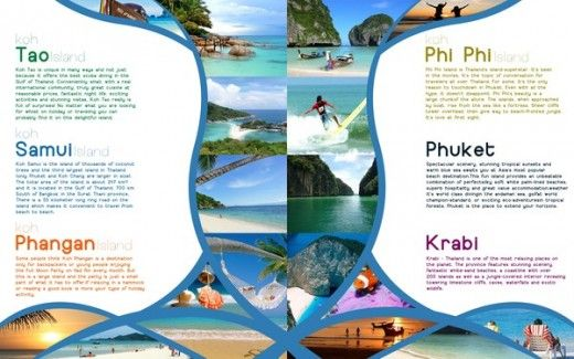 Travel Brochures Examples  PetitComingoutpolyCo