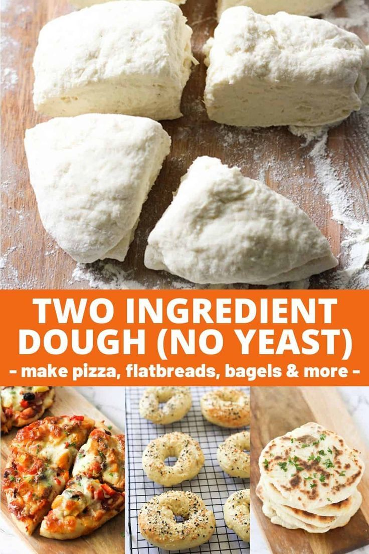 Two Ingredient Dough Recipe (No Yeast) - Cook it Real Good ...