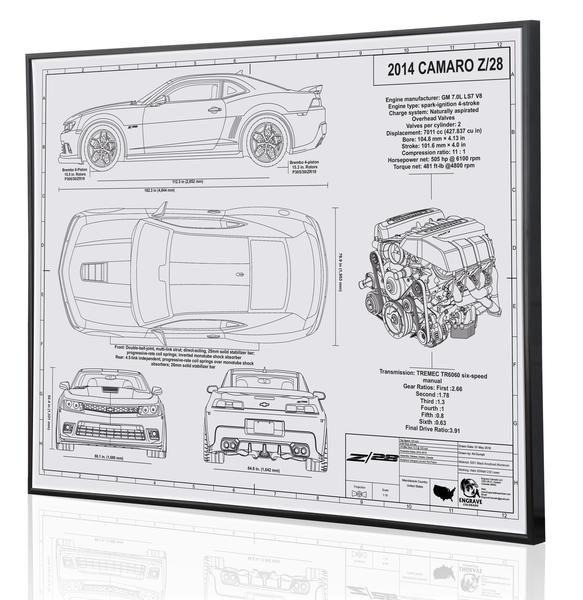 Camaro z28 custom laser engraved blueprint click here to check it camaro z28 custom laser engraved blueprint click here to check it out or find your malvernweather Gallery