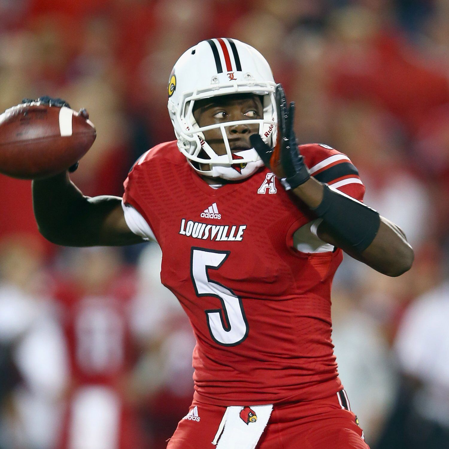 Teddy Bridgewater Teddy Bridgewater Louisville Cardinals Oakland Raiders