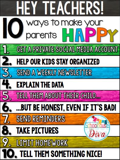Cool Parents Make Happy Kids : parents, happy, Schoolhouse, Divas, Parent, Teacher, Communication,, Parents, Teachers,, School, Communication
