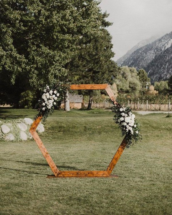 Modern Wedding Backdrop Ideas