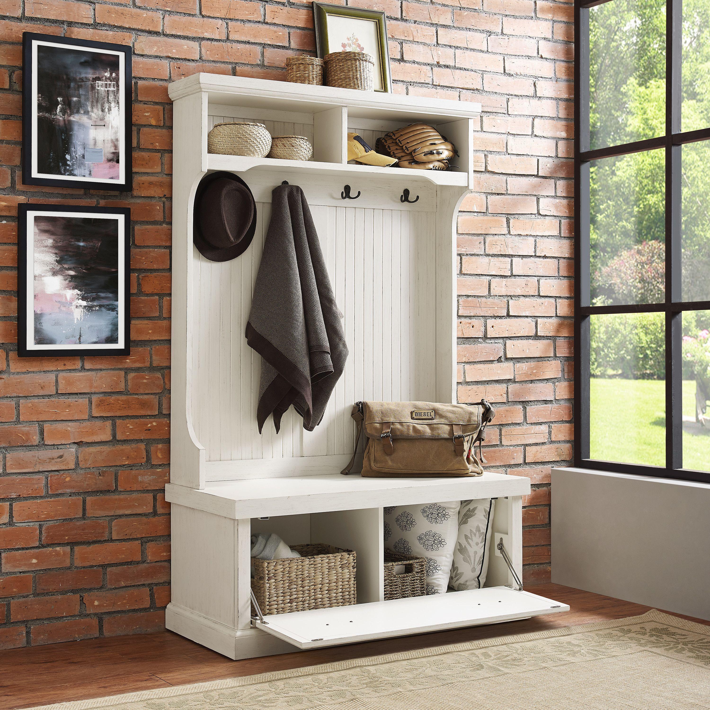 Excellent Halstead Hall Tree Hall Tree Storage Bench Entryway Theyellowbook Wood Chair Design Ideas Theyellowbookinfo