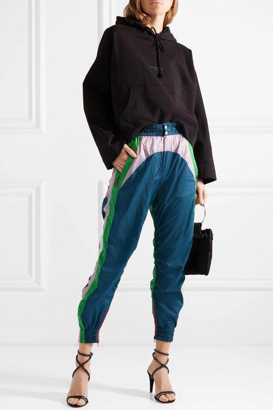 9ae53cf7921 Isabel Marant - Raruso color-block shell track pants