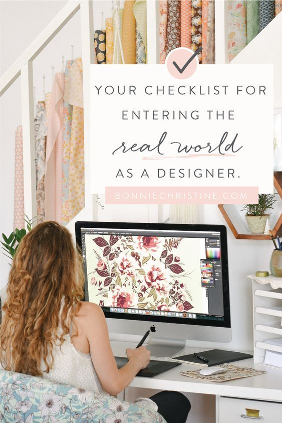 Your checklist for entering the 'real world' as a designer (or other creative entrepreneur #surfacepatterndesign