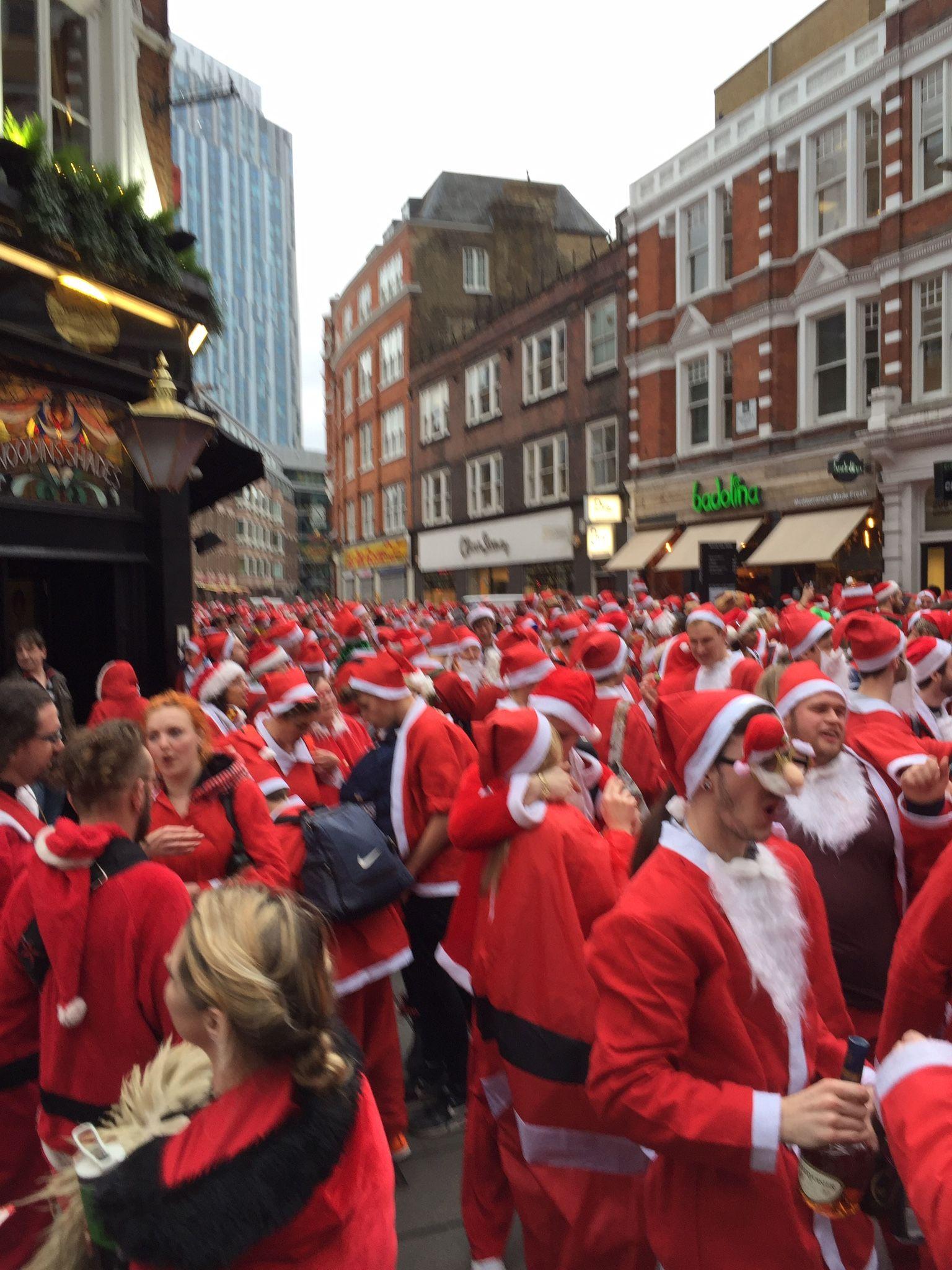 Santa's in London