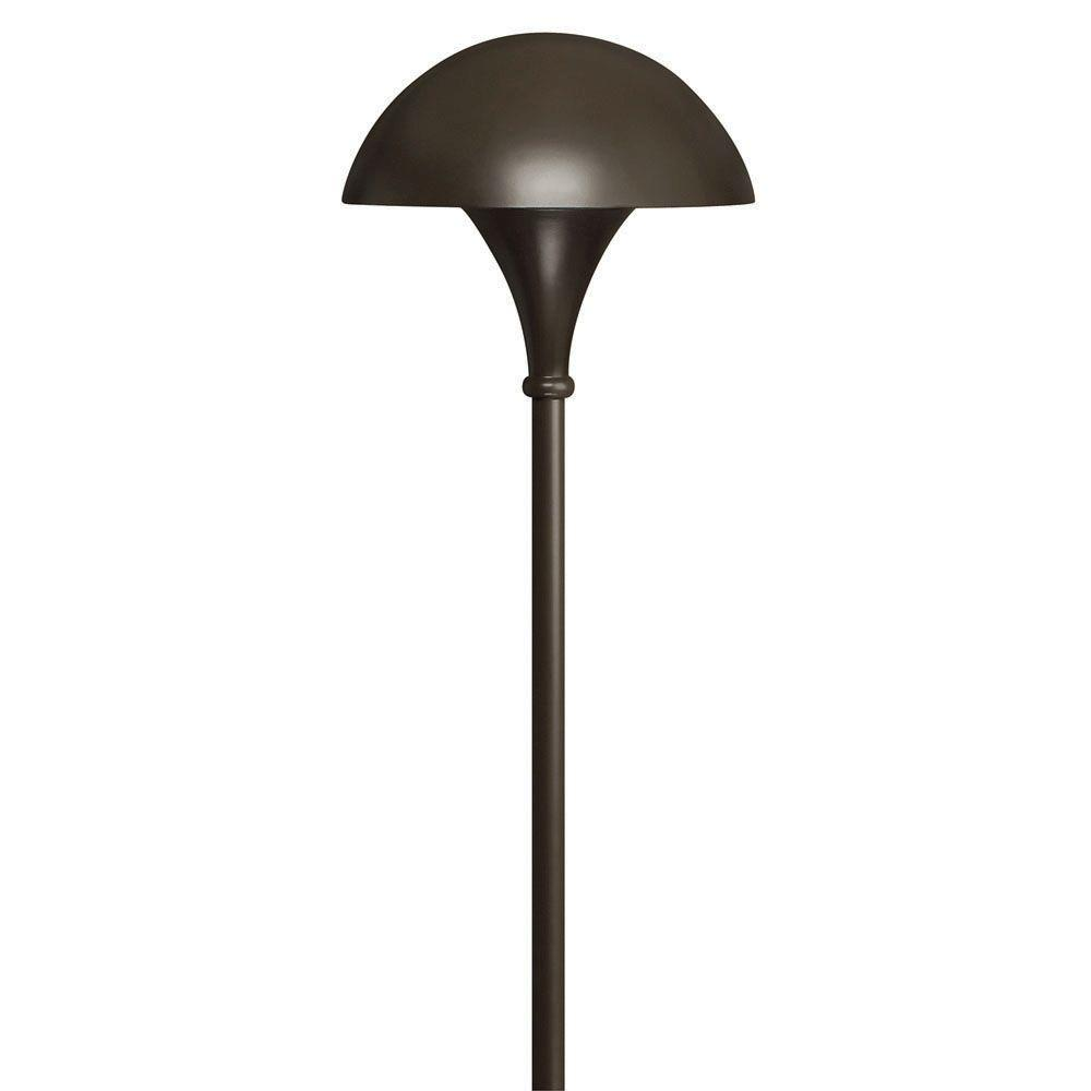 Hinkley Lighting 120 Volt Line Voltage Bronze Mushroom Path Light 56000bz Hinkley Lighting Cool Floor Lamps Path Lights