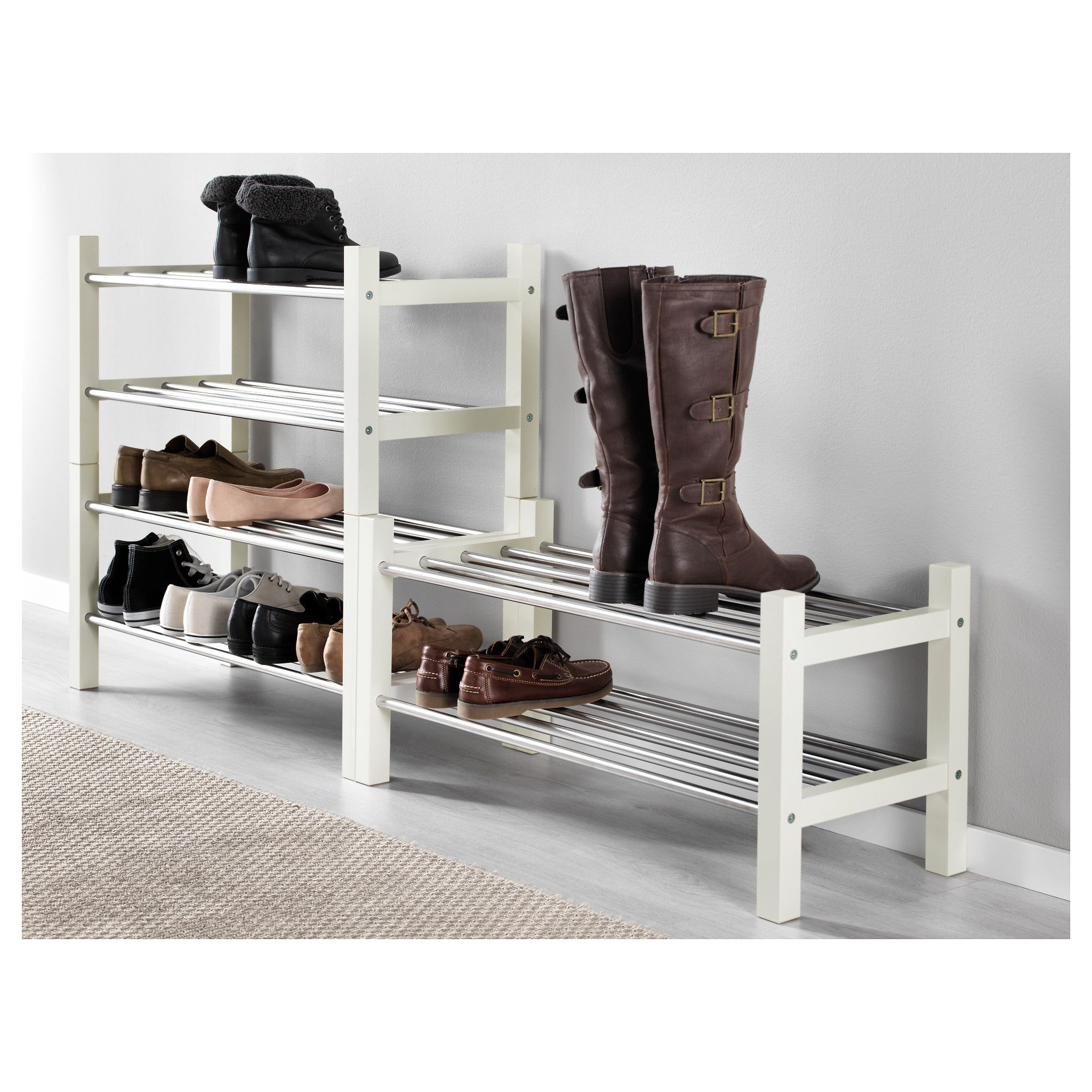 8908a4fc80380626d4cd5894d76fc124 - Better Homes And Gardens 2 Tier Stackable Shoe Rack