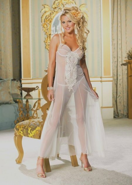 Pictures of see through wedding dresses