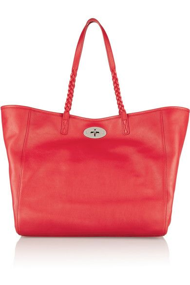 Mulberry    Dorset leather tote. Mulberry red leather tote Dust Bag ... 7ba864865b640