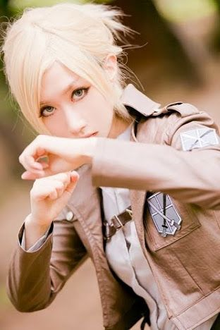 Annie Leonhart. Anime - Attack on Titan