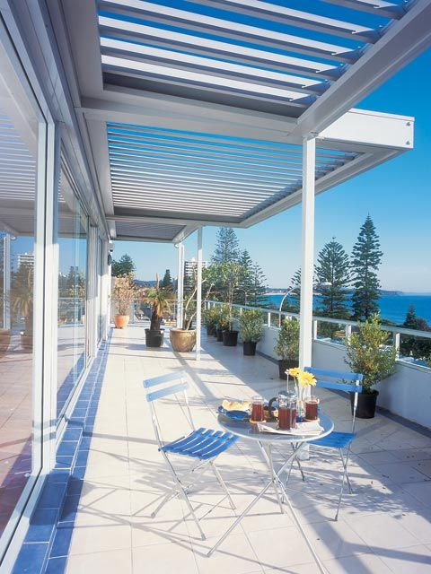 Vegola Adjustable Louvered Roof System Residential Patio Roofing Systems