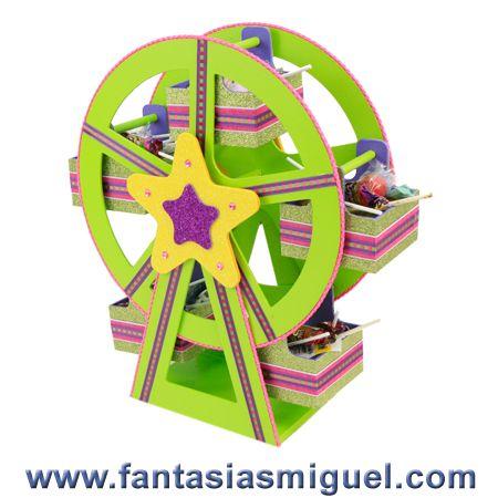 Despachador de dulces rueda de la fortuna decorada con - Rueda de colores ...