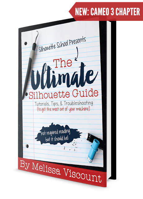 Looking For The Silhouette Guide For Dummies You Found It The 160 Page Silhouette Cameo Beginner Silhouette Cameo Crafts Silhouette School