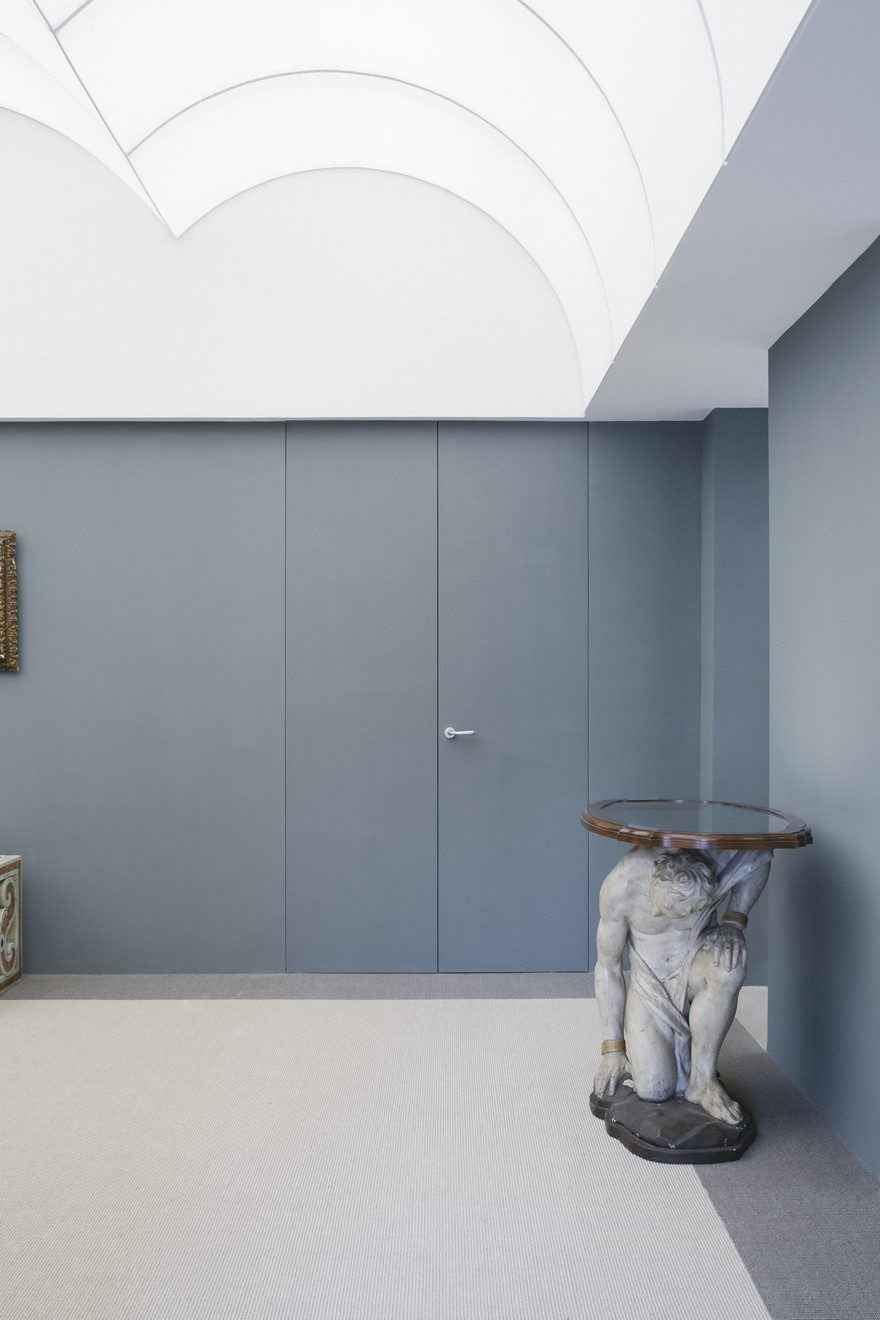 Apartment Palazzo Doria Pamphilj In Rome By Supervoid Architects