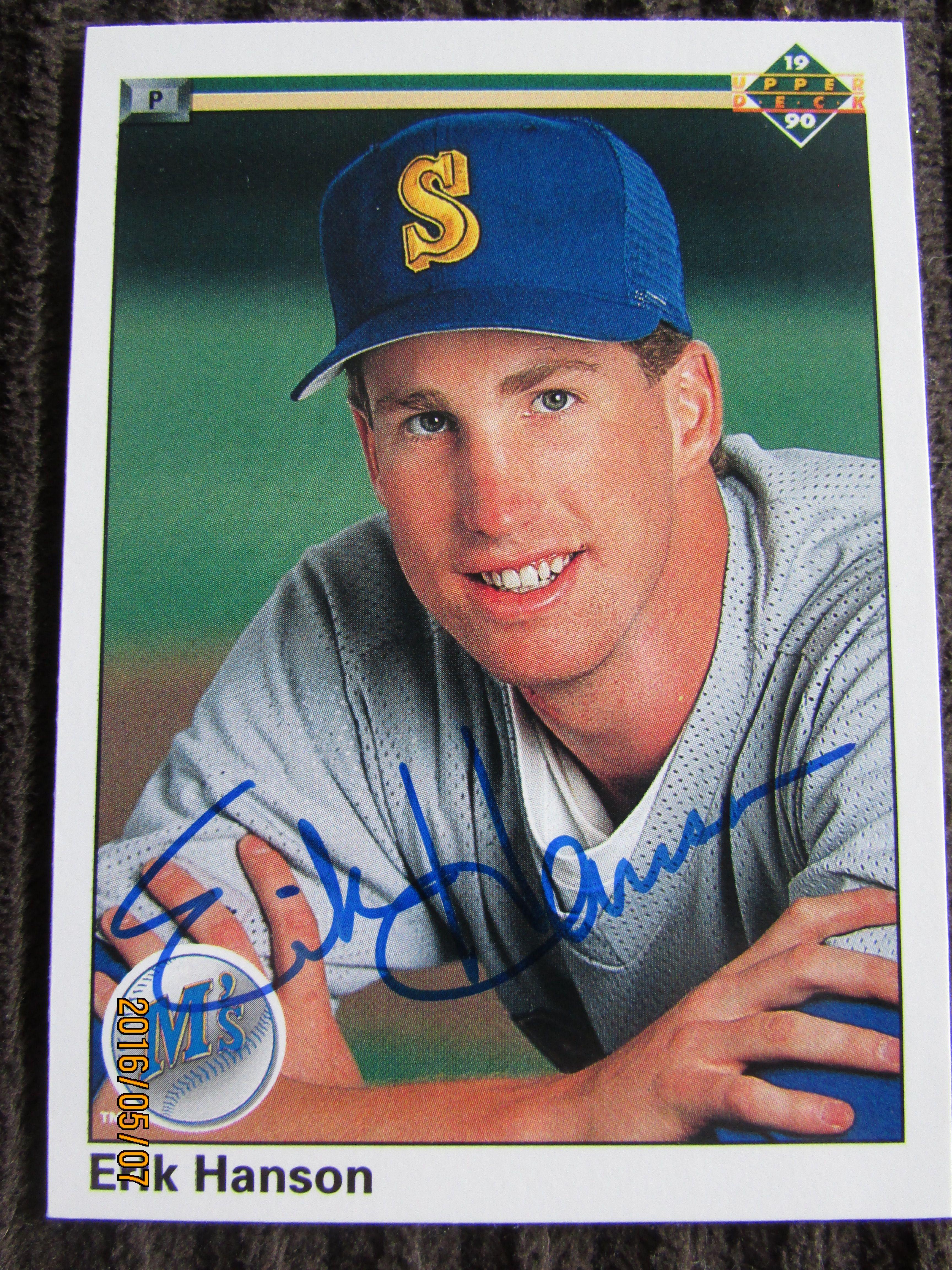 1990 upper deck 235 ttm upper deck deck baseball cards