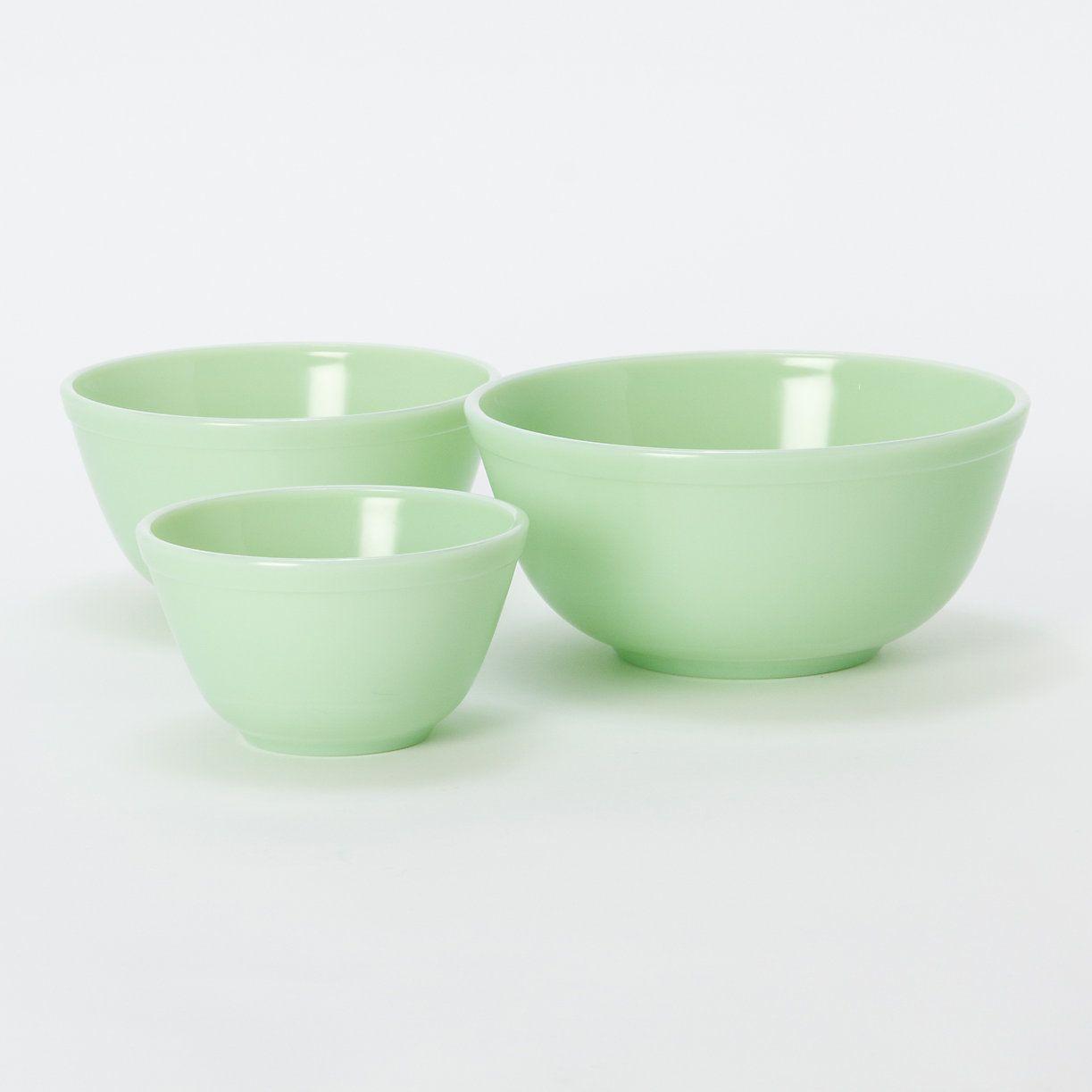 Jadeite Mixing Bowl Set The Shop Mixing Bowls Bowl