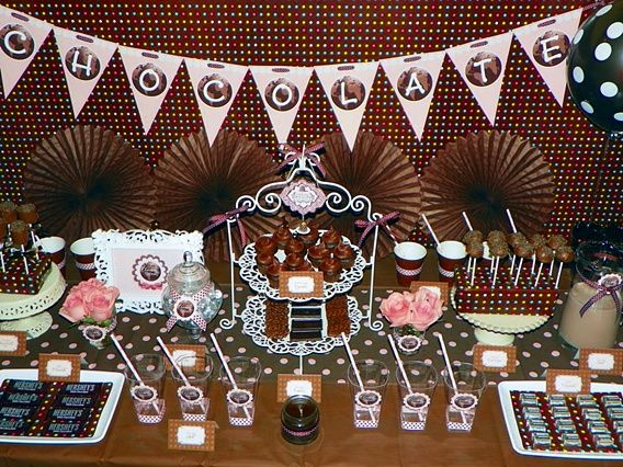 Chocolate Themed Parties