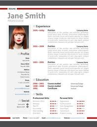 Image Result For Professional Cv Samples  Cv Template